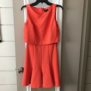 Fun & Flirty Orange Limited Dress